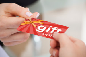accounting for gift cards, accounting