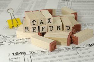 tax refund, sale, IRS, taxes