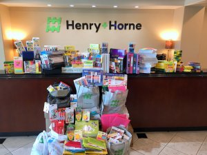 Treasures 4 Teachers, Henry+Horne, community service, give back, volunteer, giving, donations
